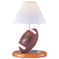 "Football 22.5"" H Table Lamp with Empire Shade"