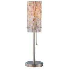"""Schale 22"""" H Table Lamp with Drum Shade"""