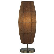 """Parvati Wide 20"""" H Table Lamp with Novelty Shade"""