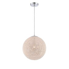 Kumi 1 Light Globe Pendant