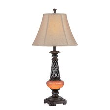 """Ellis 32"""" H Table Lamp with Bell Shade"""