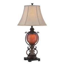 """Alden 33"""" H Table Lamp with Bell Shade"""