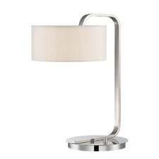 """Mea 20"""" H Table Lamp with Drum Shade"""