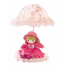 "Baby Doll 18"" H Table Lamp with Bowl Shade"
