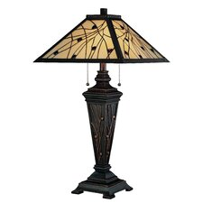 """Remus 29.25"""" H Table Lamp with Empire Shade"""