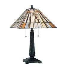 """Sachet 25"""" H Table Lamp with Empire Shade"""