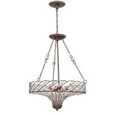 Vevina 8 Light Inverted Pendant