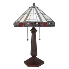 """Fitzwilliam 23.5"""" H Table Lamp with Cone Shade"""