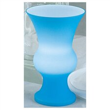 Genie Glass Accent Lamp (Blue)