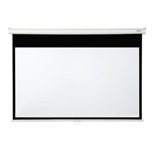 """Matte White 106"""" diagonal Manual Projector Screen with Slow Retraction"""