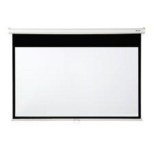 "Matte White 130"" diagonal Manual Projector Screen"