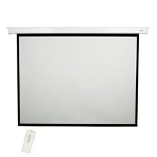"Matte White 84"" diagonal Electric Projector Screen"
