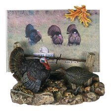 3D Turkey Scene Picture Frame