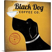 Black Dog Coffee Co. by Ryan Fowler Gallery Graphic Art on Wrapped Canvas