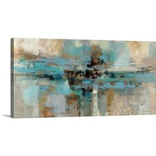 'Morning Fjord' by Silvia Vassileva Painting Print on Wrapped Canvas