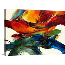 Opposites Attract by Jonas Gerard Gallery Painting Print on Wrapped Canvas