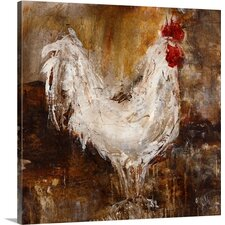 Backyard Guest I by Jodi Maas Painting on Wrapped Canvas