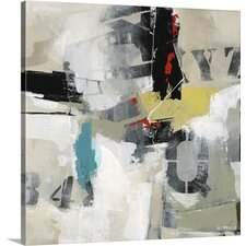 Rock Paper Scissors I by Sydney Edmunds Painting on Wrapped Canvas