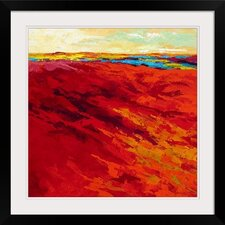 Summer Heat by Marion Rose Framed Painting Print