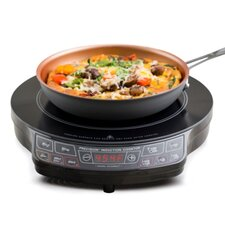 "14.5"" Electric Induction Cooktop with 1 Burner"