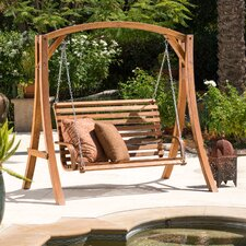 Bracciano Porch Swing with Stand
