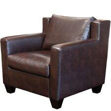 Leonard Leather Club Chair