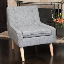 Reese Tufted Fabric Retro Side Chair