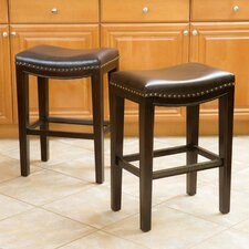 "Avondale 26"" Bar Stool with Cushion (Set of 2)"