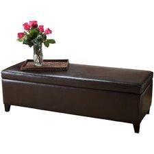 Bailey Leather Storage Ottoman