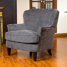 Waldorf Diamond Tufted Club Chair