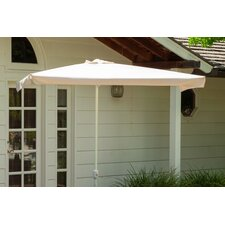 7.6' Catalpa Cantilever Outdoor Canopy Umbrella