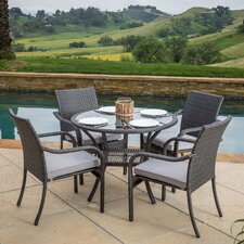 Mission Bay 5 Piece Dining Set
