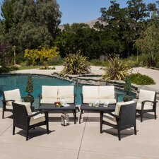 Waikiki 8 Piece Lounge Seating Group with Cushions