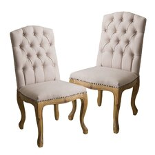 Winston Tufted Dining Chair (Set of 2)