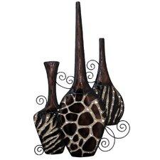 Faux Vases Wall Décor 2 Piece Set