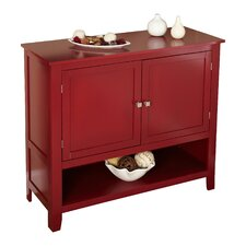 Sideboard in Red