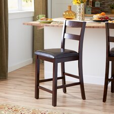 "Adams 24.5"" Bar Stool with Cushion (Set of 2)"