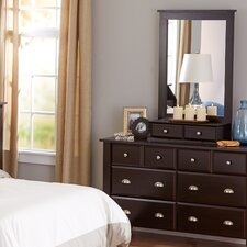 Revere 8 Drawer Dresser with Mirror