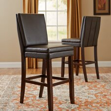 "Gates 30"" Bar Stool with Cushion (Set of 2)"