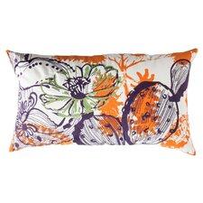 Cactus Cotton Lumbar Pillow