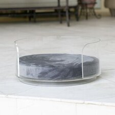 Acrylic Curved Dog Bed