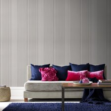 "Majestic 33' x 20"" Stripes Wallpaper"