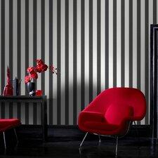 "Ticking 33' x 20"" Stripes Wallpaper"