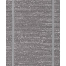 """Solace 33' x 20"""" Stripes Embossed Wallpaper"""
