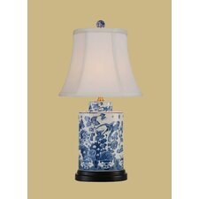 """21"""" H Jar Table Lamp with Bell Shade"""