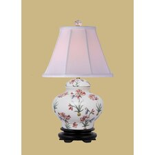 """16.5"""" H Jar Table Lamp with Empire Shade"""