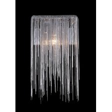 Fountain Avenue 1 Light Jewelry Chain Wall Sconce