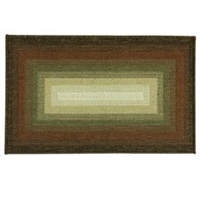 Cotton Elegance Spcie/Brown Concentric Tone Rug