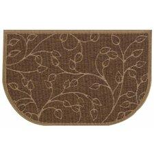 Brown Slice Wandering Leaf Doormat