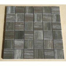 "Teakwood 2"" x 2"" Porcelain Mosaic Tile in Multi"